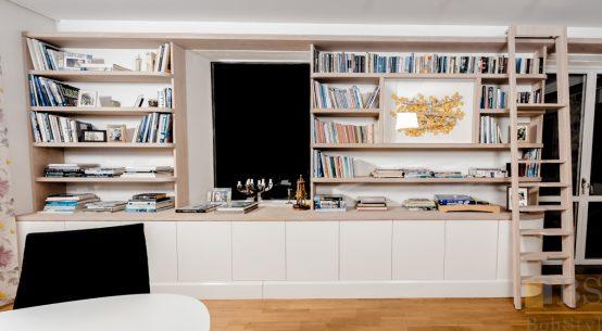 meble biurowe, meble salonowe, nowoczesna biblioteczka
