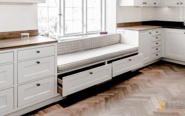 kuchnia w stylu szwedzkim, kuchnia biała