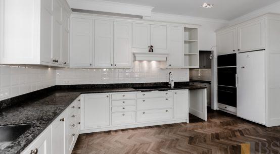 kuchnia biała, kuchnia w stylu szwedzkim
