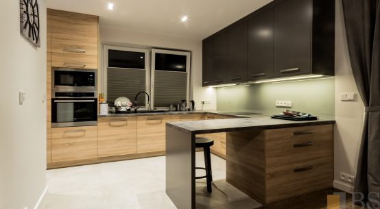 przytulna kuchnia pod Krakowem, Kuchnia nowoczesna, meble kuchenne, kuchnia na wymiar, nowoczesne meble do domu