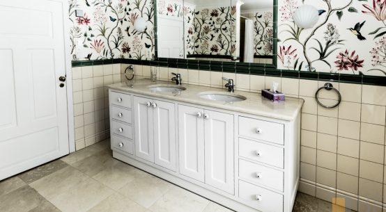 meble łazienkowe, szafka łazienkowa, meble w stylu szwedzkim