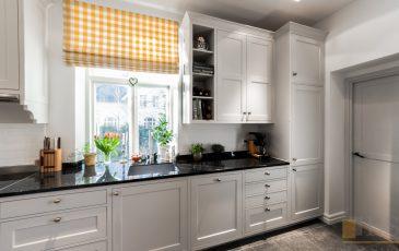 meble kuchenne Częstochowa, kuchnia w stylu skandynawskim, kuchnia biała