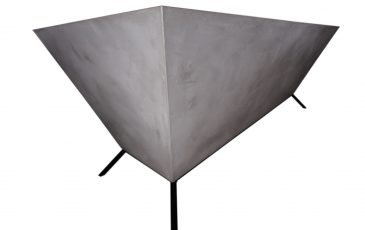 Biurko betonowe 3D, biurko w stylu loft